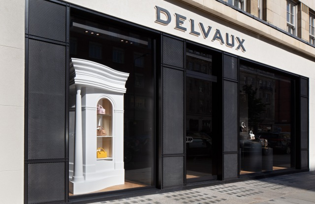 Delvaux store on Sloane Street