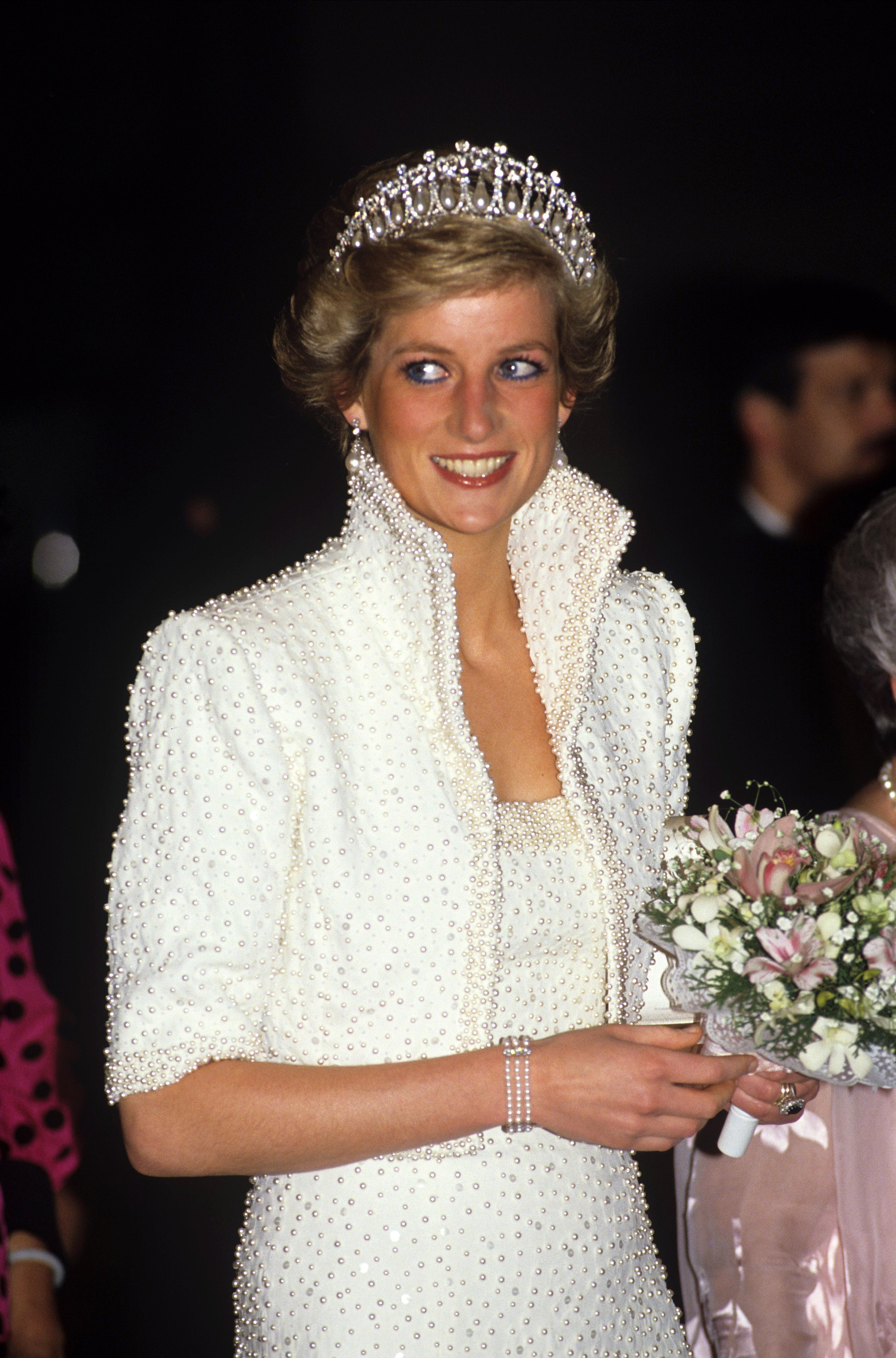 Princess DianaPRINCESS DIANA AND PRINCE CHARLES TOUR OF HONG KONG - November 1989
