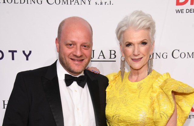 NEW YORK, NY - MAY 02:  Coty CEO Camillo Pane and Model Maye Musk attend The DKMS Love Gala 2018 at Cipriani Wall Street on May 2, 2018 in New York City.  (Photo by Dimitrios Kambouris/Getty Images for DKMS)