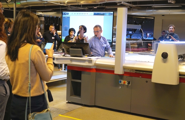 Demonstrations of Lectra's Cutting Room 4.0 recently took place in Bordeaux, France.