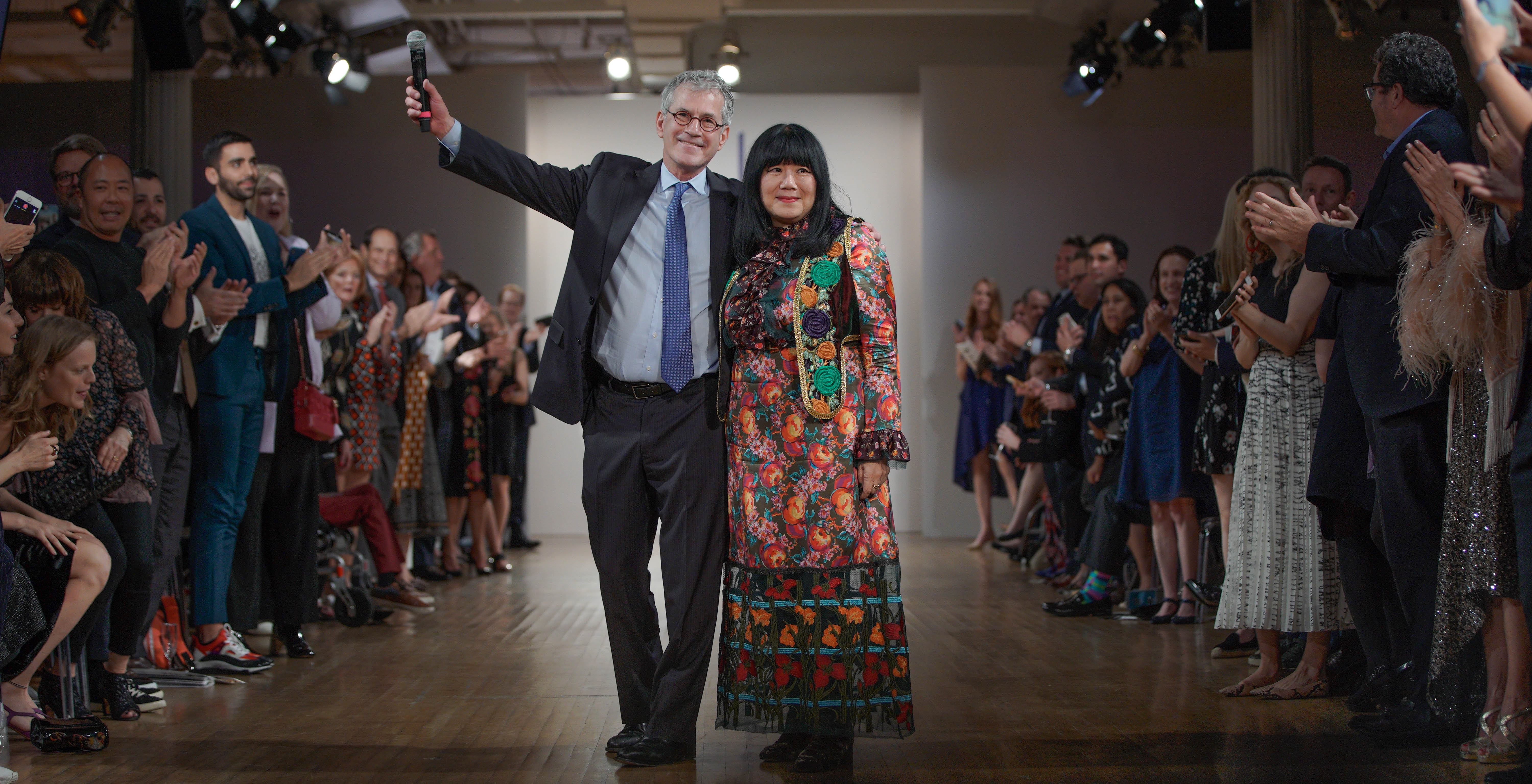 Richard Ellenson and Anna Sui