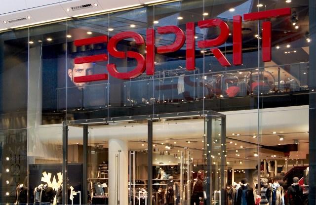 An Esprit store.