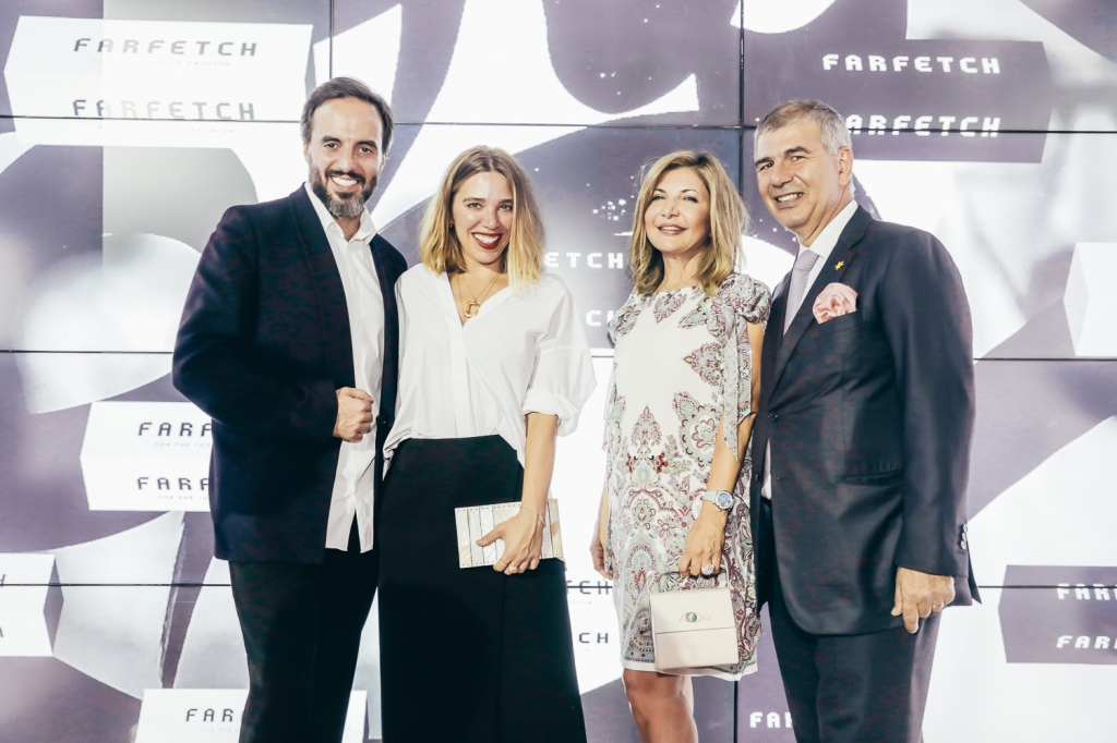 José Neves and Daniela Cecilio with Ingie & Patrick Chalhoub