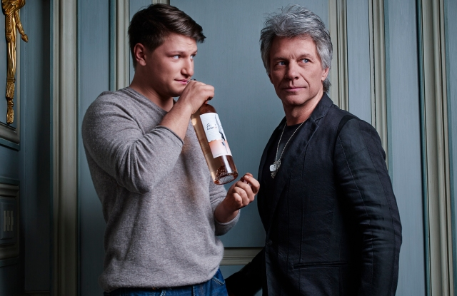 Jesse Bongiovi and Jon Bon Jovi