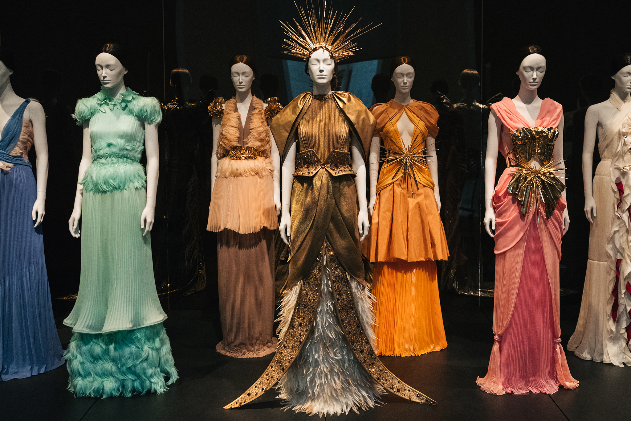 """""""Heavenly Bodies"""" features an array of designer pieces."""