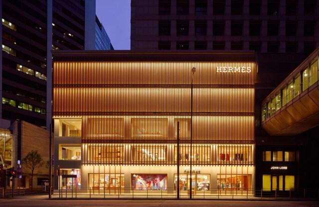 Hermes store in Hong Kong