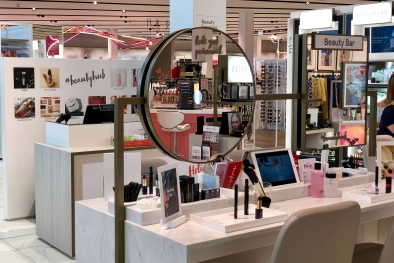 The Estée Lauder beauty hub at Debenhams