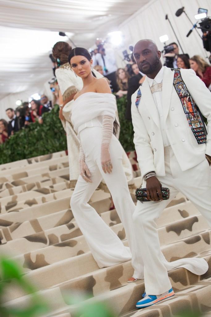 Kendall Jenner and Virgil Abloh