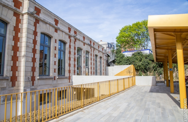 The new Esmod campus in Pantin.