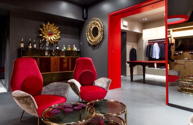 The Isaia Rome store.