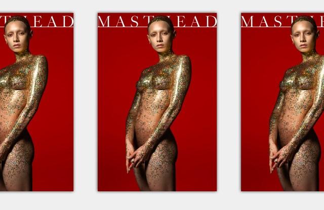 Masthead's cover, shot by Albert Watson.