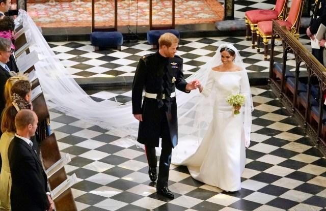 Meghan Markle wedding dress Royal Wedding 2018
