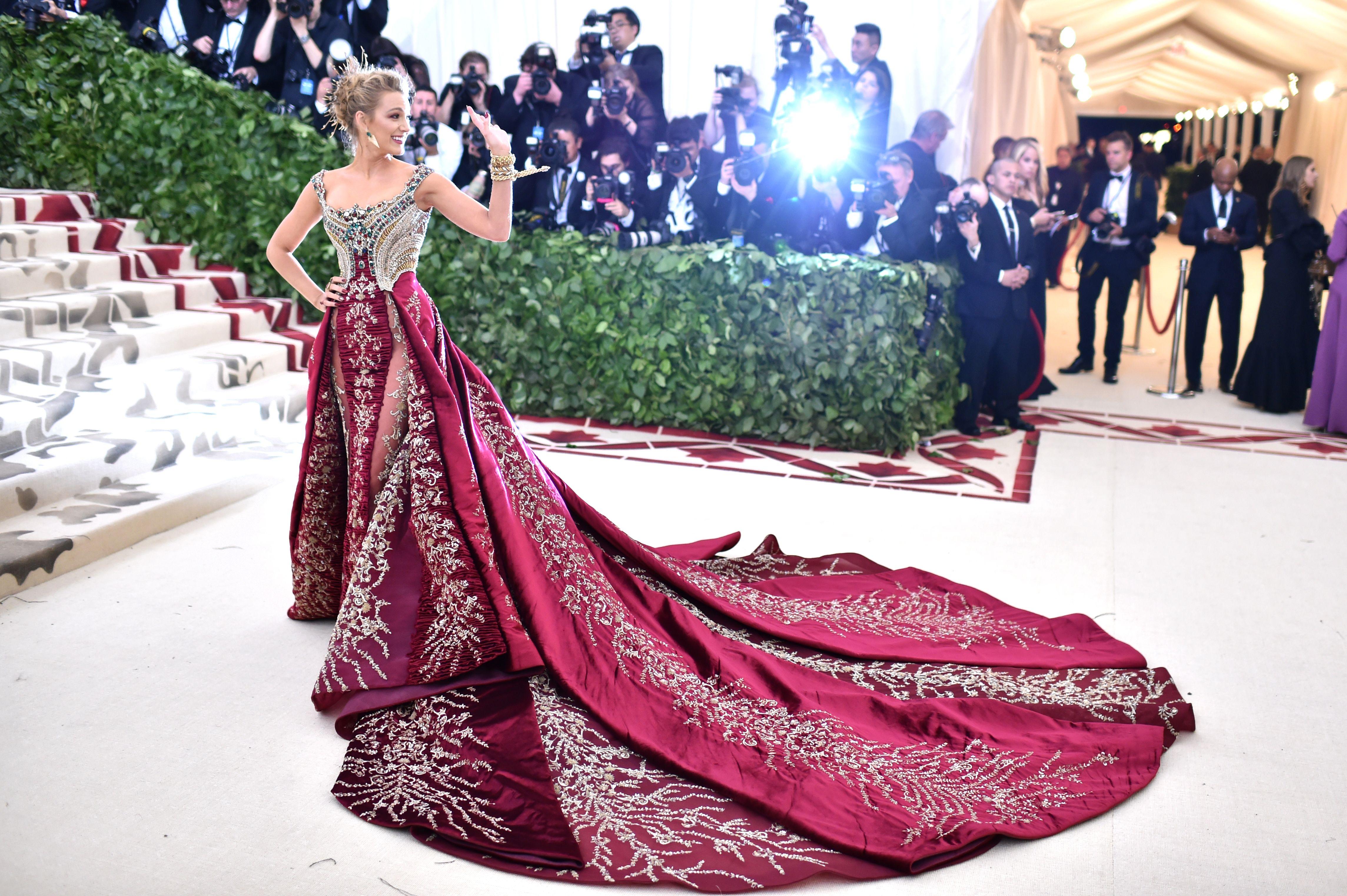Blake Lively in Versace, Met Gala 2018