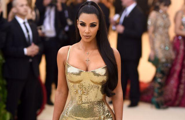 Kim Kardashian in Versace, Met Gala 2018