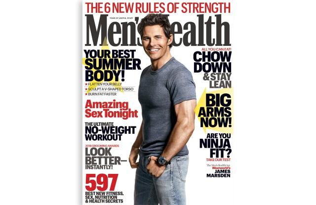 Men's Health James Marsden