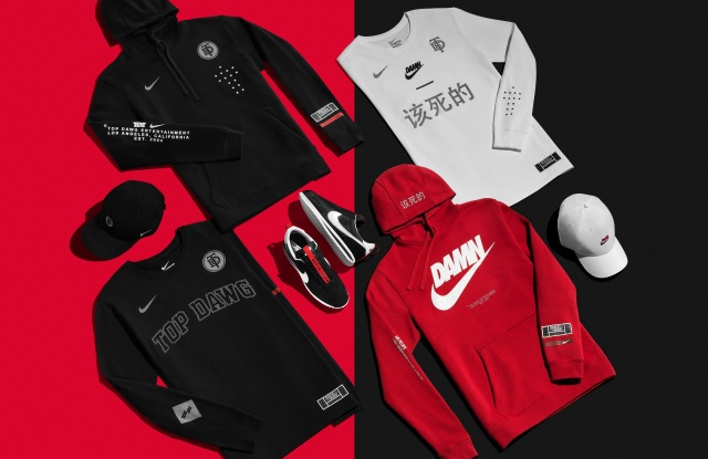 Nike x Top Dawg Entertainment collection.