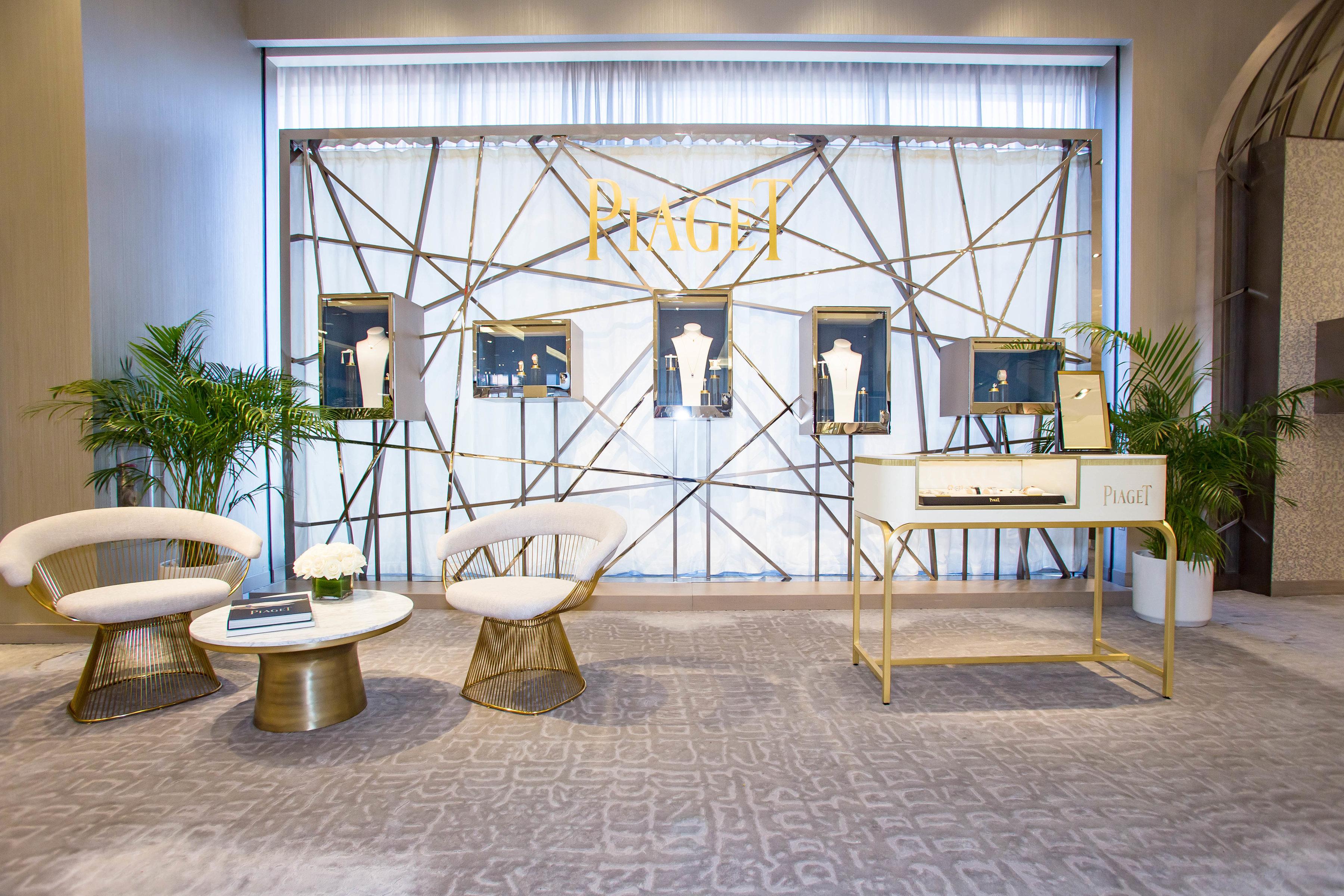 Piaget Pop-Up Shop at Neiman Marcus Beverly Hills
