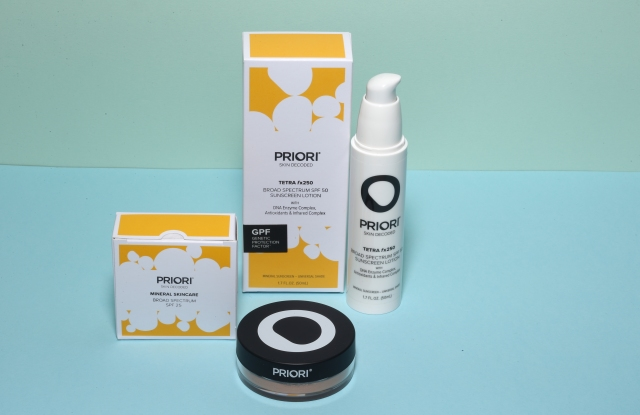 A selection of Priori's broad spectrum products.
