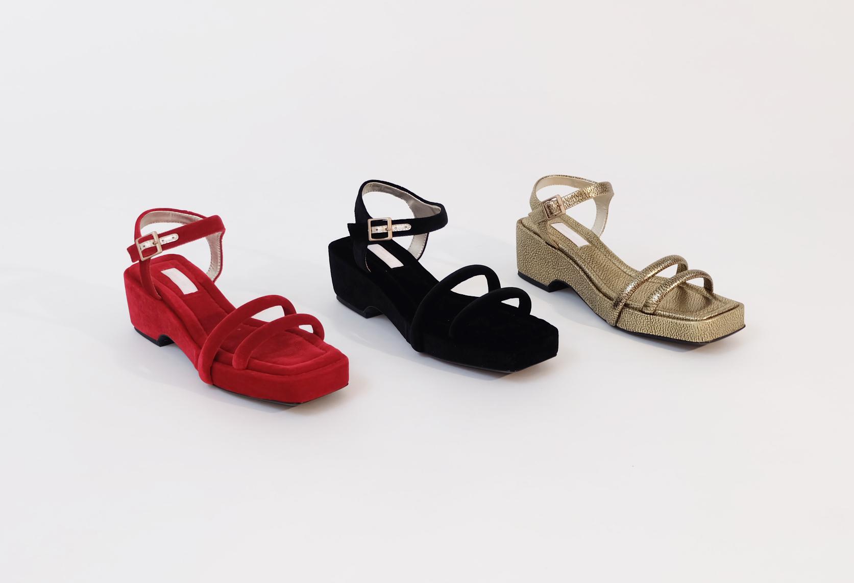 Suzanne Rae sandals.