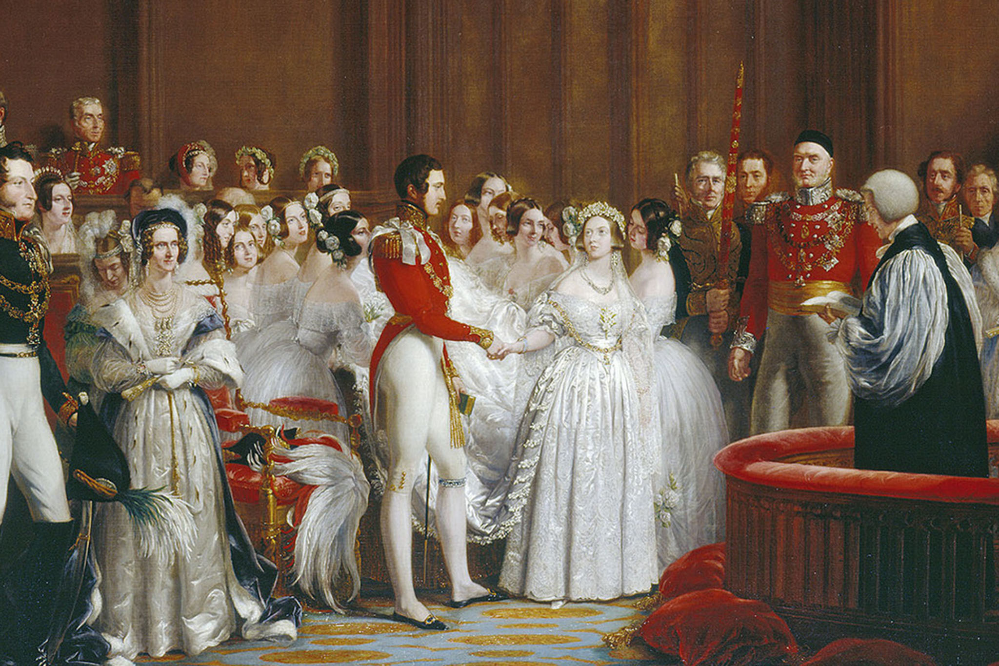 The wedding of Queen Victoria by George Hayter