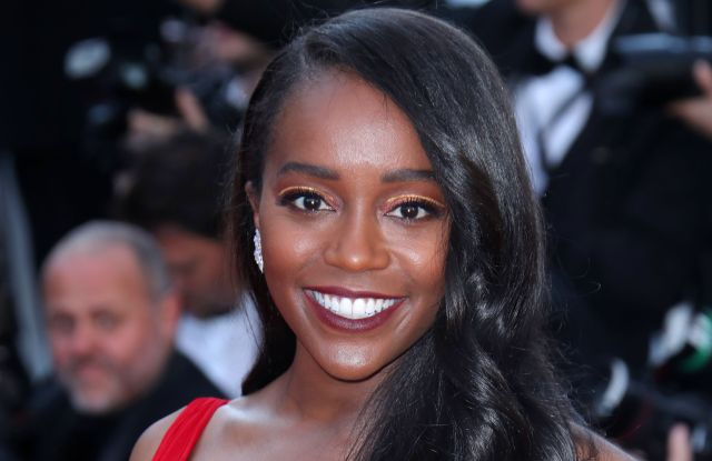 Aja Naomi King'Ash Is Purest White' premiere, 71st Cannes Film Festival, France - 11 May 2018