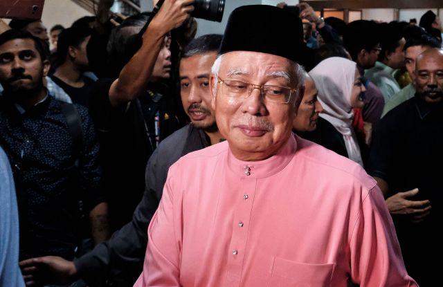 Malaysia's former prime mnister Najib Razak.