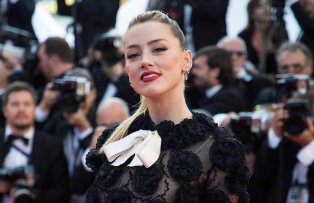Actress Amber Heard poses for photographers upon arrival at the premiere of the film 'Girls of The Sun' at the 71st international film festival, Cannes, southern France2018 50/50 2020, Cannes, France - 12 May 2018