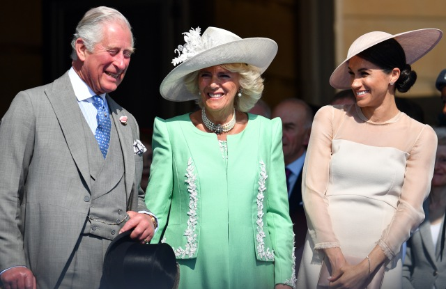 Prince Charles, Camilla Duchess of Cornwall and Meghan Duchess of SussexThe Prince of Wales' 70th Birthday Patronage Celebration, Buckingham Palace, London, UK - 22 May 2018