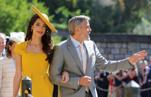 George Clooney and Amal ClooneyThe wedding
