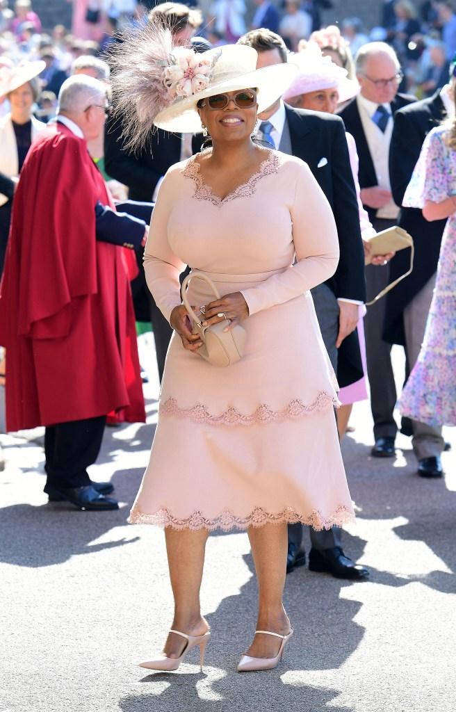 Oprah Winfrey The wedding of Prince Harry and Meghan Markle, Pre-Ceremony, Windsor, Berkshire, UK - 19 May 2018