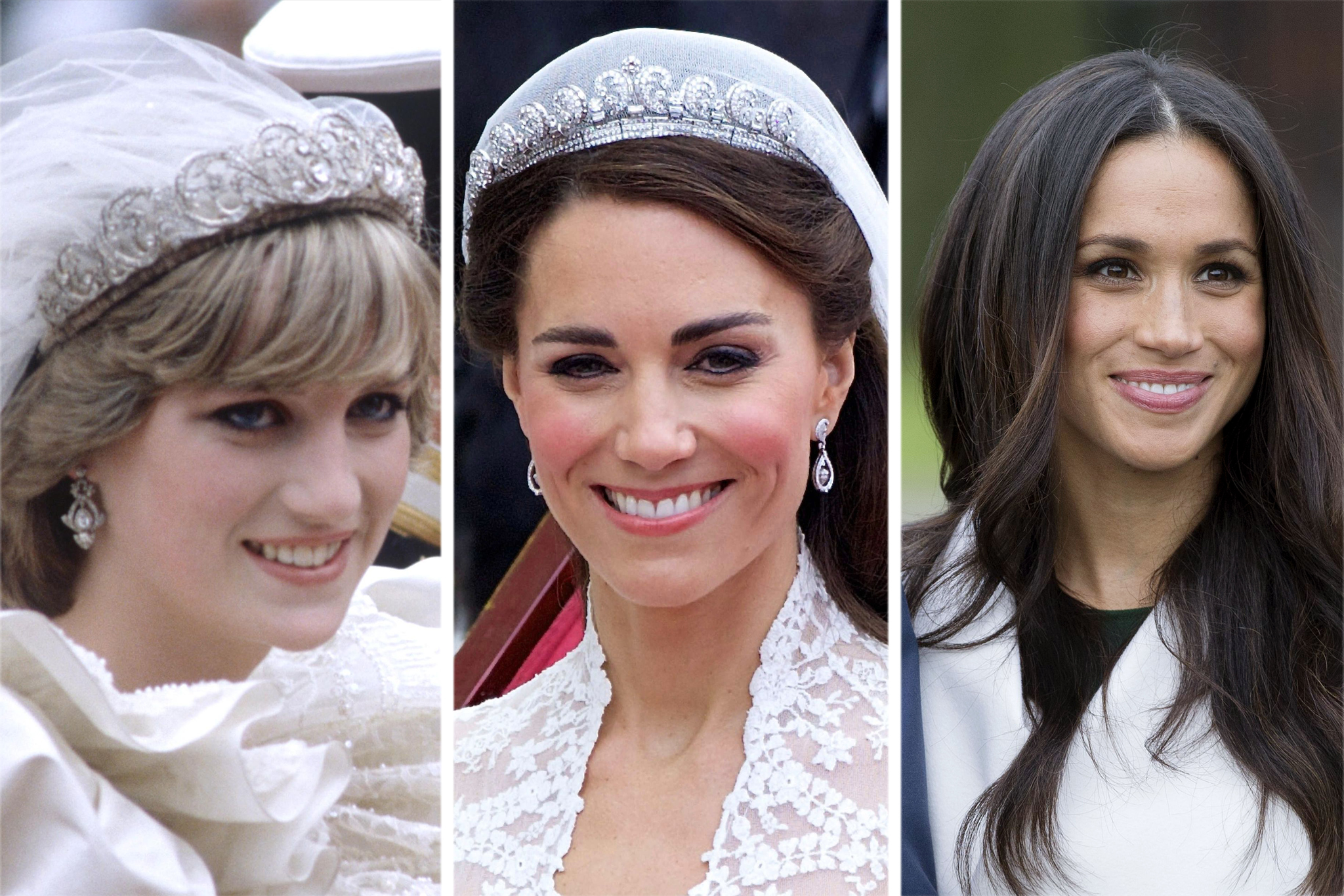 royal wedding tiara diana kate meghan