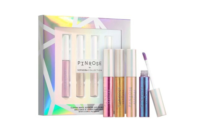 Pinrose x Sephora Collection Clever Devil Scented Lip Shimmers