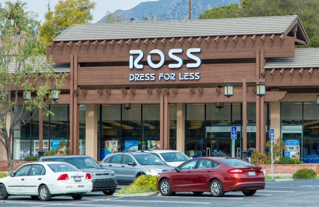 A Ross storefront.