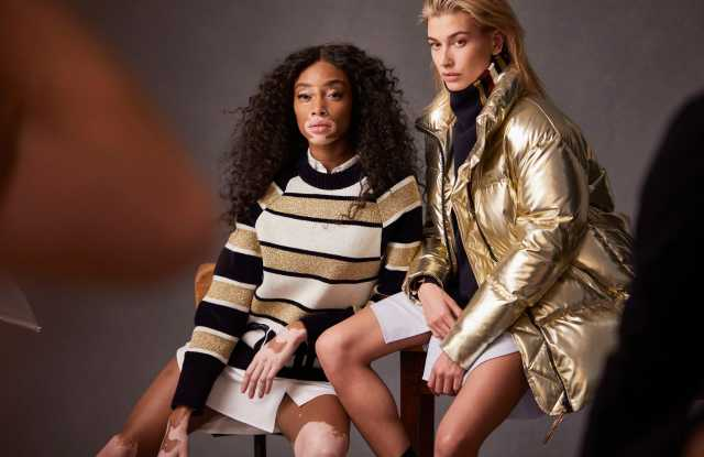 Winnie Harlow and Hailey Baldwin
