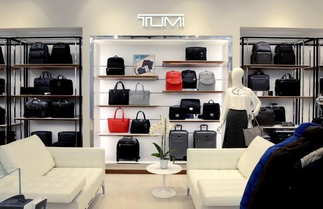 The new Tumi store in Milan's Porta Nuova district