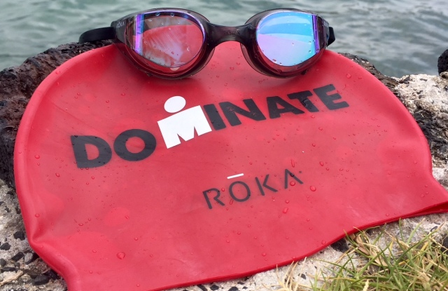 Some of the co-branded Ironman-Roka gear.