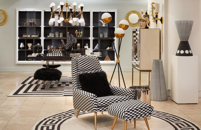 A section of Jonathan Adler's takeover of Chelsea Passage at the Barneys New York flagship.
