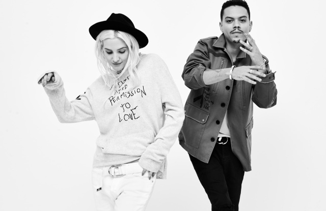 Evan Ross and Ashlee Simpson-Ross