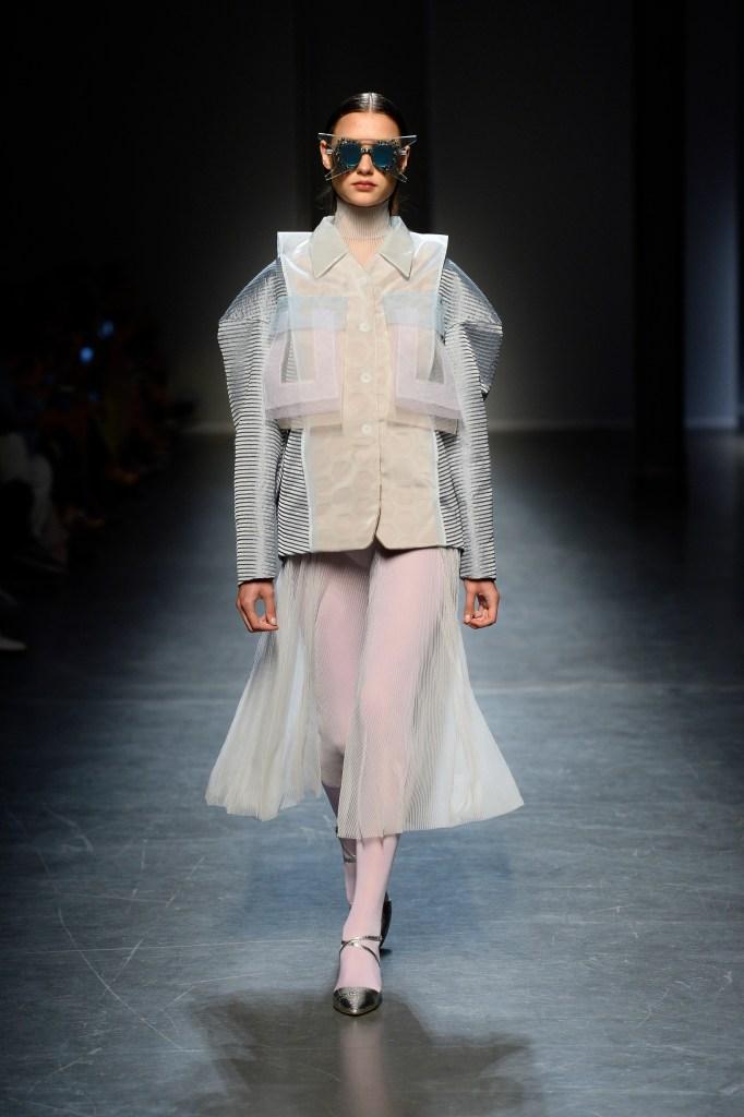 A look from CNMI Fashion Trust's award winner Mauro Muzio Medaglia.