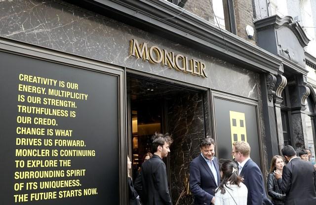 Moncler Genius x Hiroshi Fujiwara Celebrates Launch of '7 Moncler Fragment' in London