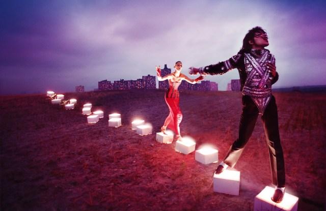 An Illuminating Path by David LaChapelle