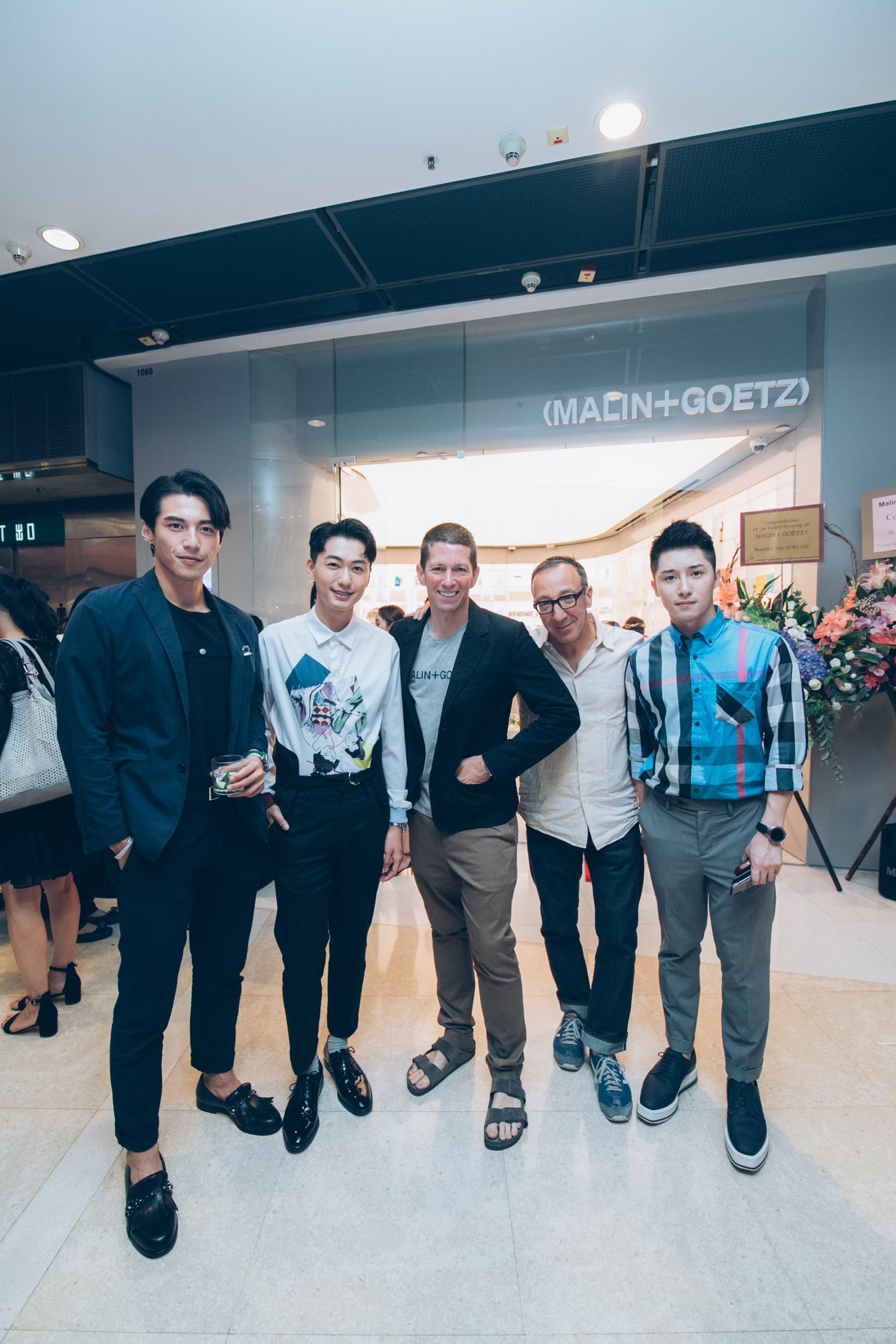 The Malin + Goetz Hong Kong store opening.