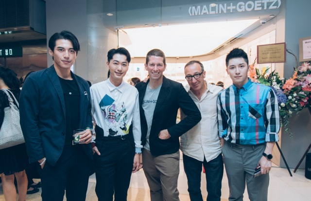 The Malin + Goetz Hong Kong store opening.