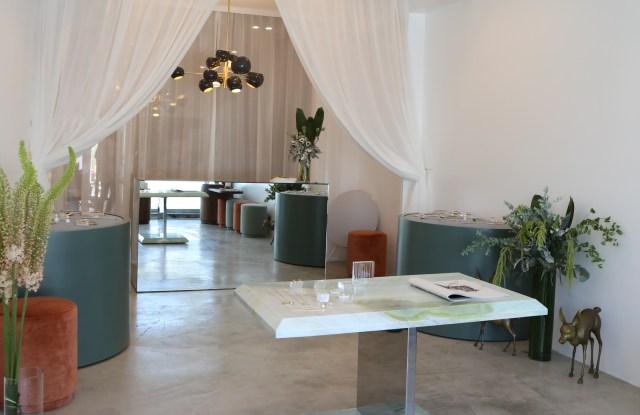 An interior view of Gabriela Artigas' Los Angeles boutique