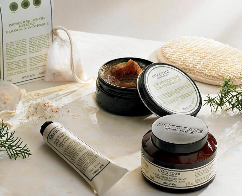 L'Occitane en Provence products.
