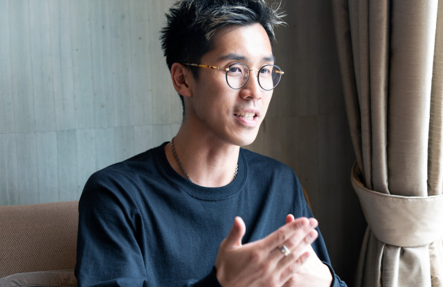 Hypebeast founder Kevin Ma