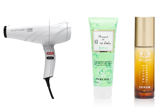 """A selection of products featured in the """"Beauty Made In Italy"""" program."""