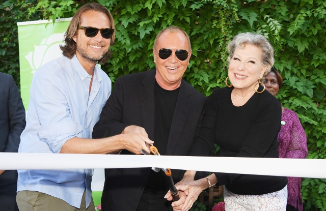 Lance Le Pere, Michael Kors and Bette Midler.