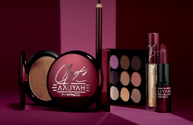 MAC x Aaliyah tribute collection.