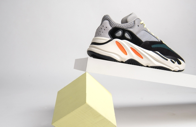 Adidas Wave Runner that's part of Reign's Deadstock program.